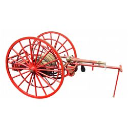 Hand Drawn Fire Hose Cart