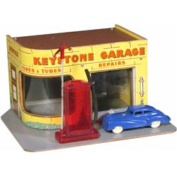 1940's Keystone Toy Garage