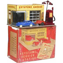 1940's Keystone Toy Garage, Model # 143