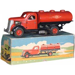 Vebe Pressed Steel Oil Tanker Toy Truck