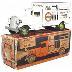 Metalcraft Pressed Steel Heinz Delivery Toy Truck