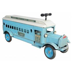 Rare Keystone Greyhound Toy Bus No. 84