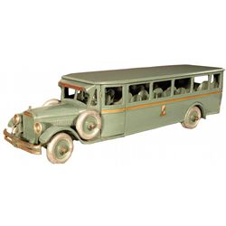 Buddy L Transportation Co. Toy Bus