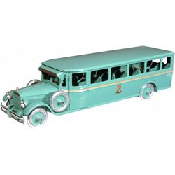 Buddy L Pressed Steel Coast to Coast Toy Bus