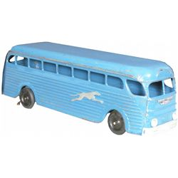 Keystone Pressed Steel Greyhound Toy Bus