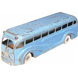 Kingsbury Pressed Steel Greyhound Toy Bus