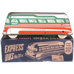 Wolverine Express Tin Toy Bus