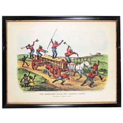 The Darktown Hook and Ladder Corps Print