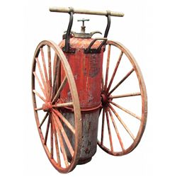Foamite Chemical Fire Extinguisher on Wheels