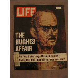 Feb. 1972 Vintage Life Magazine; Cover: The Hughes Affair