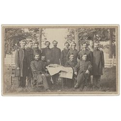 Grenville M. Dodge and Staff