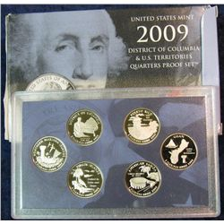 1528. 2009S Trust Territories Quarter Set. Proof
