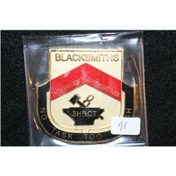 Blacksmiths 215th Brigade Support Battalion, No Task too Touch, Warriors First Logtsticians Always C