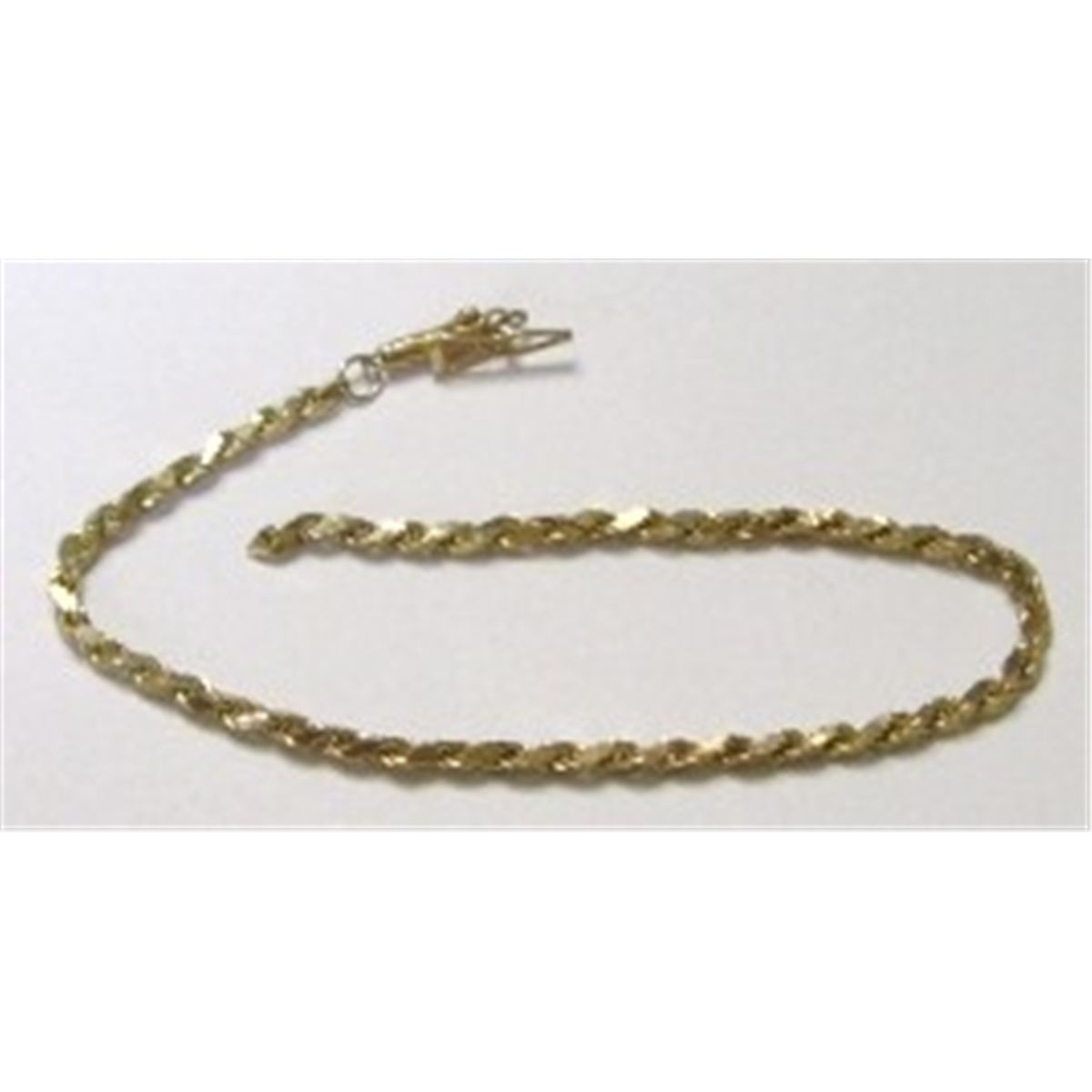 Solid 14k Gold Italy Bracelet Broken Bracelets Total Weight Is 1 53 Grams Clasp Stamped