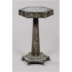 MWF1323 Bronze-Mounted Marble Pedestal Table 20th centu