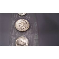 1776-1976 Silver Uncirculated 3 Pc Proof Set
