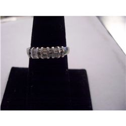 Platinum Baguette Diamond Ring
