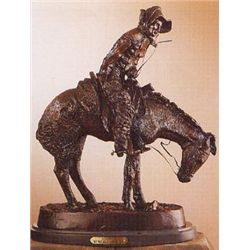 Norther Bronze Sculpture by Frederic Remington.
