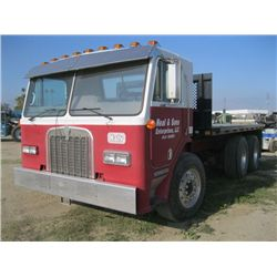 1985 Kenworth L700 Cab-Over Flatbed Truck