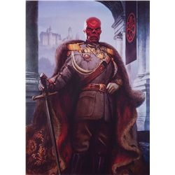 Portrait of Red Skull