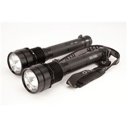 Pair of HID flashlights used in the plane wreckage discovery sequence