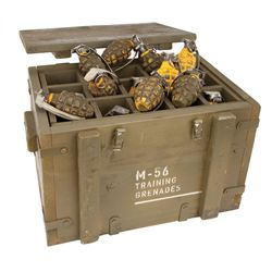 Hero grenade box with grenades from Camp Lehigh scene