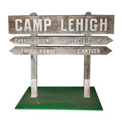 Camp Lehigh sign