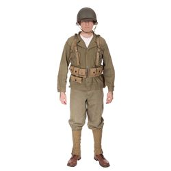 Steve Rogers hero Camp Lehigh Army costume