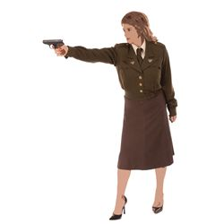 Peggy Carter hero Rebirth Lab costume