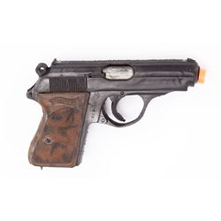 Peggy Carter stunt Walther PPK pistol