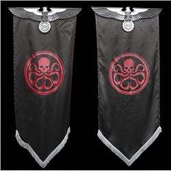 Pair of Hydra logo banners