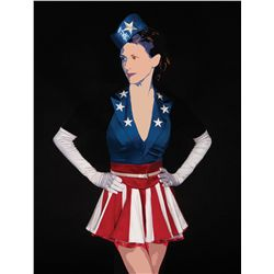 Three (3) U.S.O. Dancing Girls costumes