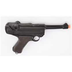 """Oversize prop Luger P08 pistol used by USO """"Hitler"""" character"""