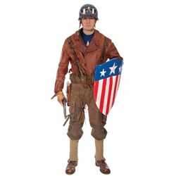 Captain America hero suit from POW rescue