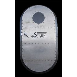 Stark Industries aircraft door