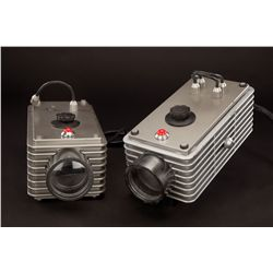 Pair of Hydra surveillance cameras