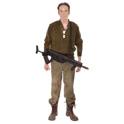 Bucky Barnes hero Hydra Factory rescue costume