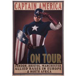 "Captain America ""On Tour"" poster"