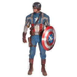 Captain America complete hero suit