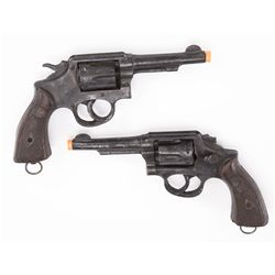 Pair of resin prop six-shooters