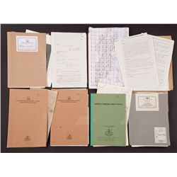 Collection of briefing files from Allied HQ