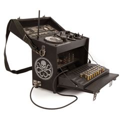 Stolen Hydra radio used by James Morita and Gabe Jones prior to the train boarding sequence