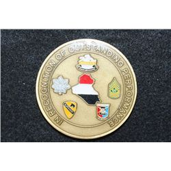 Operation Iraqi Freedom In Recognition of Outstanding Performance Challenge Medal