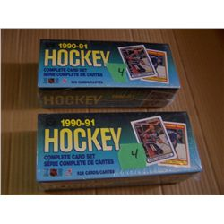 90 - 91 O Pee Chee Hockey Cards