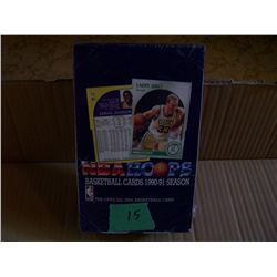 Box Of  NBA Hoops Basketball Cards