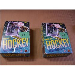 2 Boxes O-Pee Chee Hockey Cards