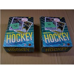 2 Boxes Of O-Pee-Chee Hockey Cards