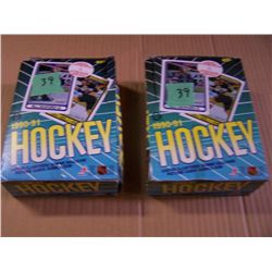 2 Boxes O-Pee-Chee Hockey Cards
