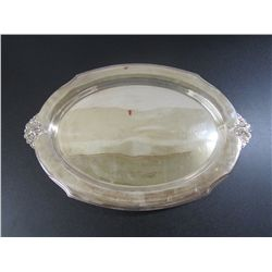 Wilcox International Silver Co. #7109 Footed Meat Platter