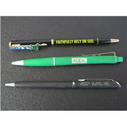 Lot Of 3 Misc. Ball Point Pens